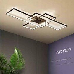 Lampa Sufitowa Dekoracyjna LED zmienna barwa światła kolor czarny INNOVATIVE  170W + pilot